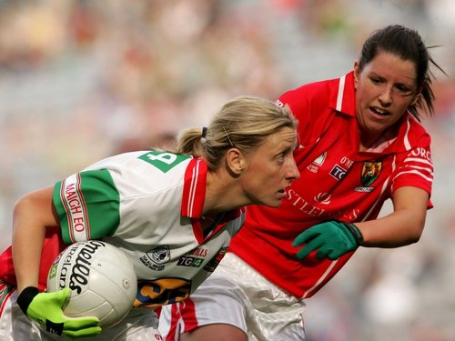Cora Staunton was the heroine for Mayo once more