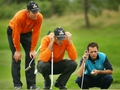 Europe hold narrow lead at Seve Trophy