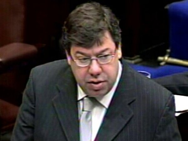 Brian Cowen - Warned spending to be curtailed
