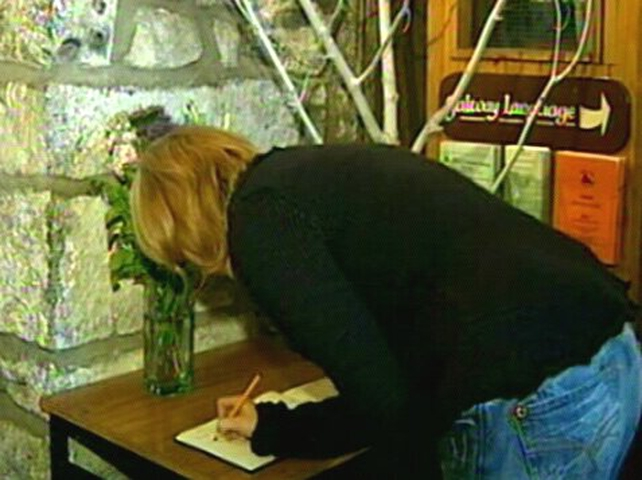 Book of condolences - People have been signing the book throughout the day