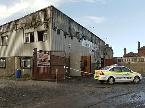 Mullingar - Warehouse damaged