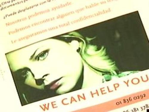 Trafficking - Irish problem exists - study