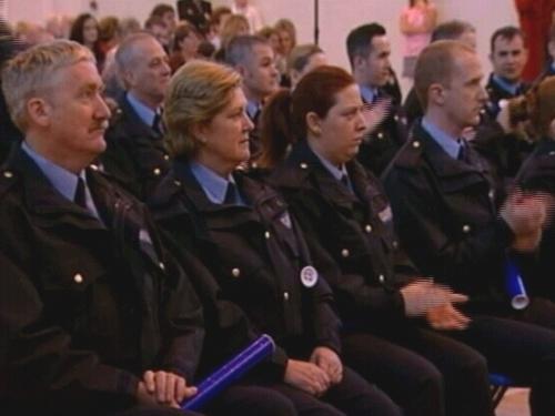 Garda Reserves - 59 graduated today
