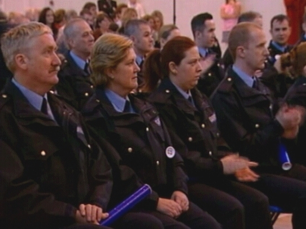 Garda Reserves - 59 graduated today