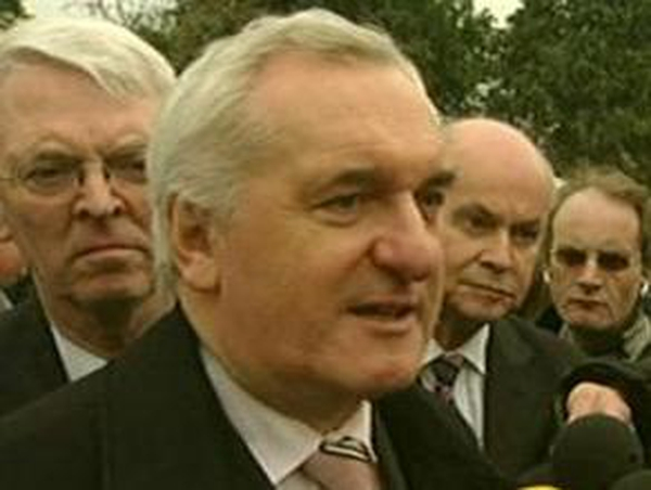 Bertie Ahern - Assurance to unionists