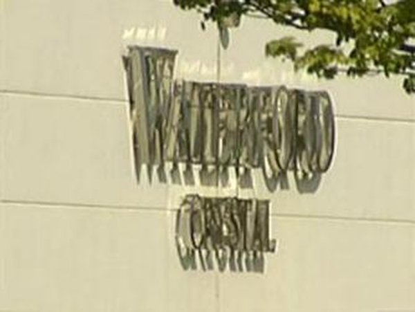 Waterford Crystal - Employees protest