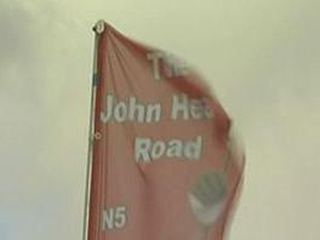 John Healy Road - Was officially opened today