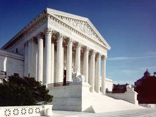 The US Supreme court hears 2 key same sex marriage cases.