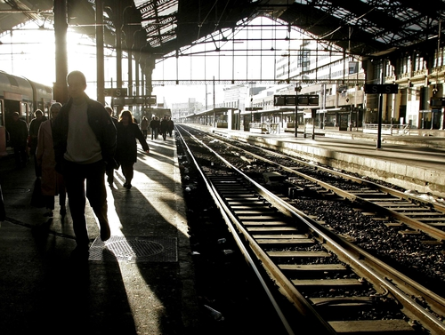 Paris - Rail strike coincides with one-day civil walkout