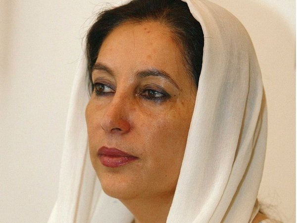 Benazir Bhutto - Killed in attack at rally