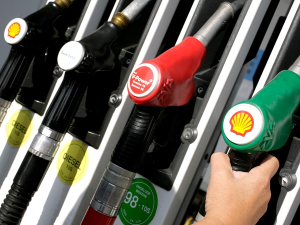 Inflation - Lower petrol and diesel prices