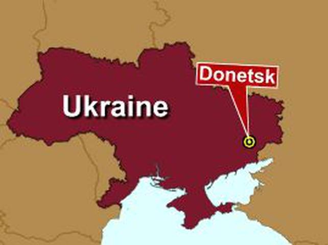 Ukraine - Blast at mine in Donetsk