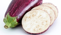 Aubergine Puree (Baba Ghanoush) - A delicious dip, try it with hummus, flatbread and olives in a mezze meal.