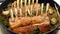 Mustard & Rosemary Crusted Rack of Lamb - Prepare a delicious lamb dish