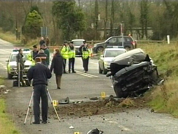 Longford - Two girls died in the crash