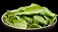 Spinach Salad With Chickpeas And Artichokes - A quick and simple to make light and healthy dish.