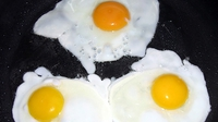 Fried Eggs - Delicious as part of a morning fry.