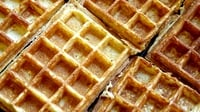 Breakfast Waffles - A delicious breakfast treat.