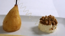Baked Pears with Ginger Cream - A fantastic combination of pears and ginger flavoured cream.