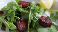 Chorizo and Rocket Salad - This quick and simple salad makes a delightful dish.