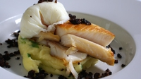Smoked Haddock with Poached Egg - A tasty and nutritional fish dish.