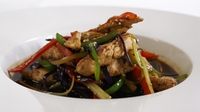 Turkey Stir Fry - This is a tasty alternative to a chicken stir fry, and is quick and easy to prepare.