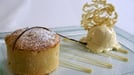 Warm Apple Tart and Vanilla Ice - Cream - A warming apple tart with homemade ice-cream.