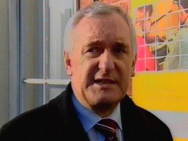Bertie Ahern - Satisfaction with FF leader down