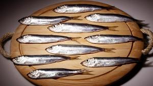 Richard Corrigan's Herring and Salmon Starter