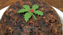 Irish-American Christmas Pudding