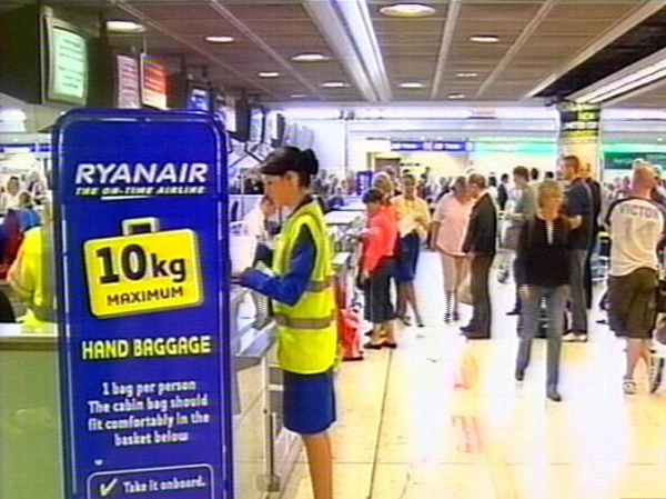 Ryanair - High oil prices and recession blamed for drop