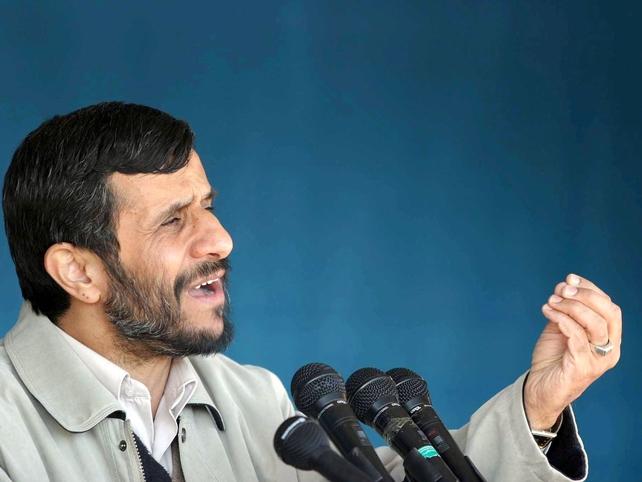 Mahmoud Ahmadinejad - On two-day visit to Iraq