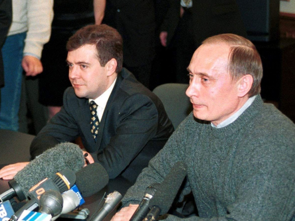 Medvedev & Putin - Pair have worked together since 1990s