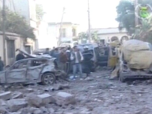 Algiers - Two bomb attacks in city