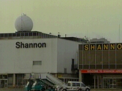 Shannon Airport - Emergency landing