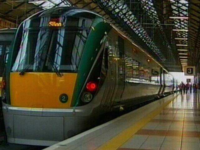 Connolly Station - New fleet on Sligo route