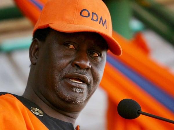 Raila Odinga - Ahead in vote