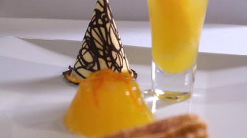 Selection of Orange Desserts