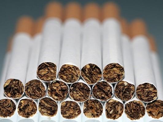 Plain-packaging cigarettes