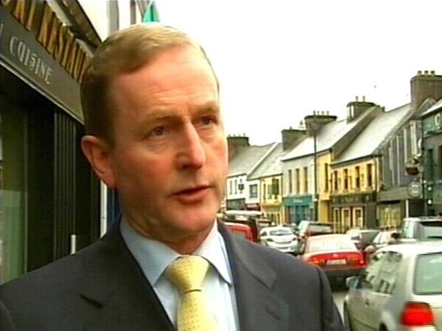 Enda Kenny - Accuses Cowen of 'reckless spending'