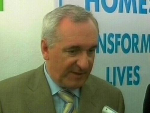 Bertie Ahern - Dismisses 'bare-faced lie'