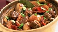 Beef au vin à la Eva - A delicious and healthy meal!
