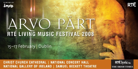 Arvo P�rt in Dublin for RT� Living Music Festival