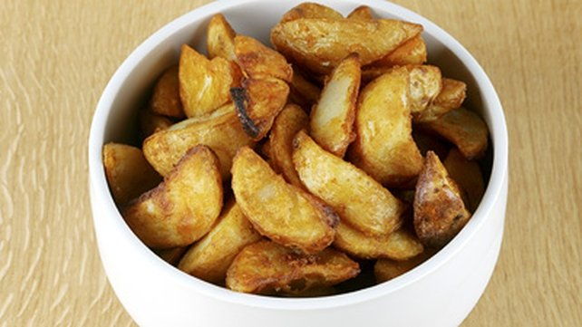 Tikka Potato Wedges and Dip