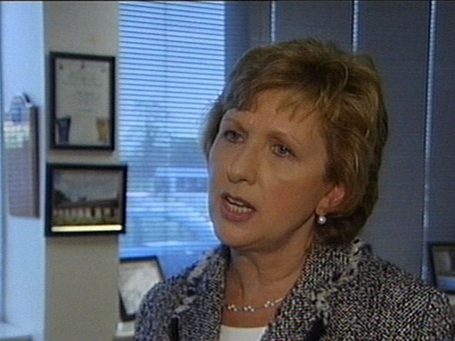Mary McAleese - Wisenthal's name diminished