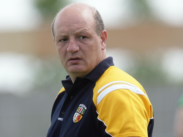 Terence 'Sambo' McNaughton's Antrim are guaranteed their place in the Liam McCarthy Cup next year