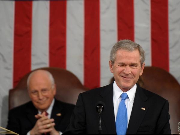 George W Bush - Again defends Iraq policy