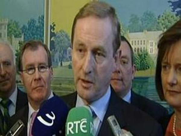 Enda Kenny - Calling for Yes to Lisbon