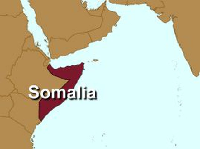 Somalia - Gunmen operating off  - Somali coast