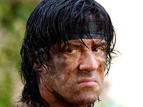 Stallone - As John Rambo